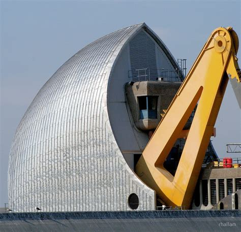 thames flood barrier how does it work quot thames barrier 5 quot by rhallam redbubble