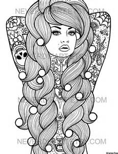 Galerry coloring pages for adults day of the dead