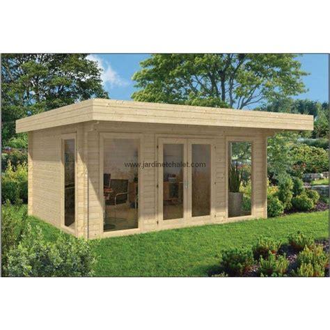 Chalet De Jardin Toit Plat 5803 by Abri De Jardin A Toit Plat Salon De Jardin 20m2 Yorick