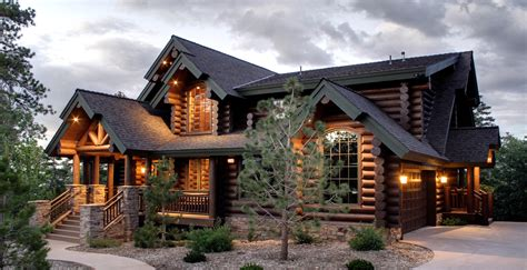 log cabin house quot our goal is to make you a beautiful custom log home or