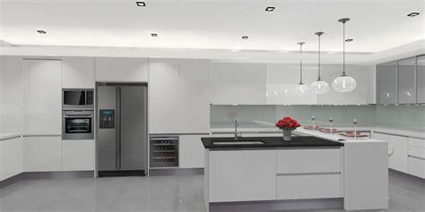 modern wet kitchen design meridian interior design and kitchen design in kuala