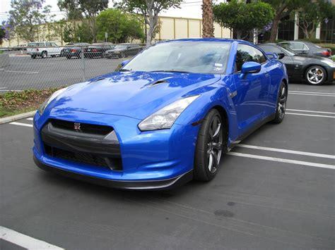nissan blue blue nissan r35 gt r visits stillen stillen garage