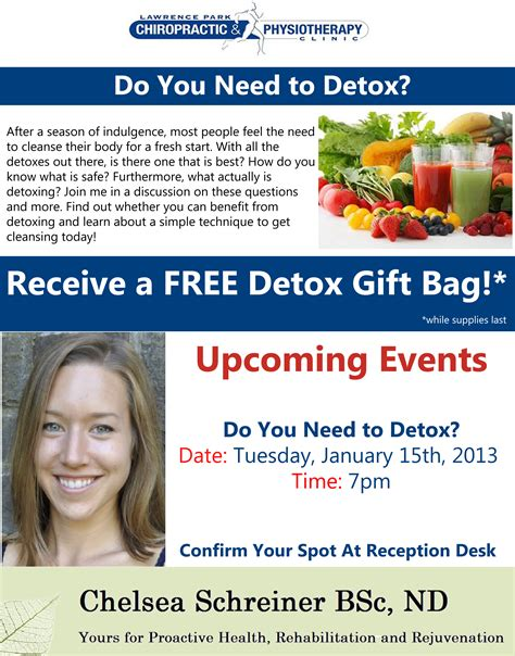 Do I Need Detox by Events