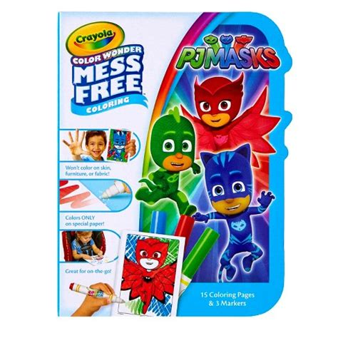 crayola coloring kit crayola 174 color coloring kit pj masks target