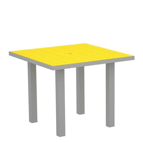 Patio Tables Home Depot Hton Bay Belleville 40 In Square Patio Dining Table Fts80581 The Home Depot