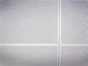 perforated metal ceiling panel