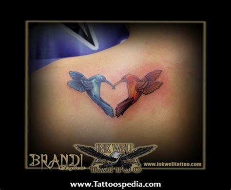 hummingbird heart tattoos hummingbird