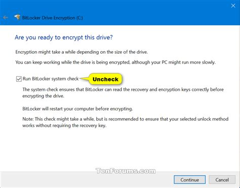 windows 10 operating system tutorial bitlocker turn on or off for operating system drive in