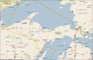 Map Of Michigan Upper Peninsula by Similiar Map Of Upper Peninsula Of Michigan Keywords