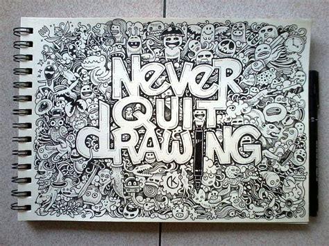 doodle rumah doodle coretan coretan acak nan artistik rahmat