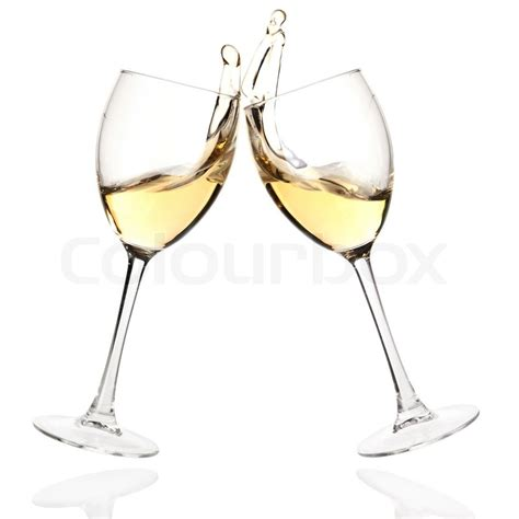 cartoon wine glass cheers wine collection cheers clink glasses with white wine