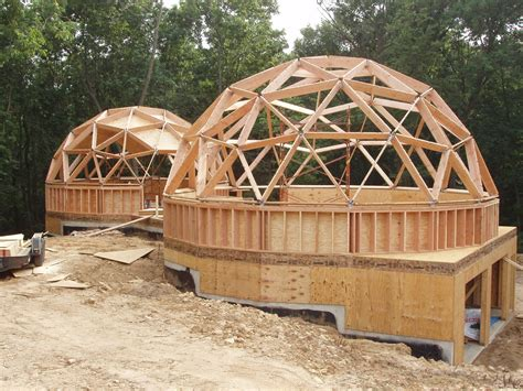 Small Cabin Plans Under 1000 Sq Ft by Your Guide To Wood Frame Dome Home Construction
