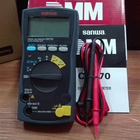 Multimeter Digital Sanwa Pc510 100 made in japan sanwa cd770 digital multimeter in