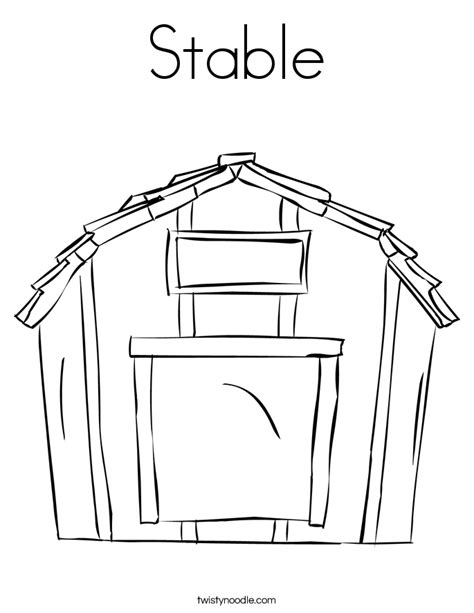 scheune malvorlage barn printable coloring pages coloring home
