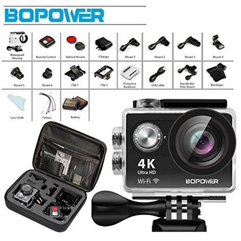 Top Kamera Sport Wifi 4k Hd With Remote High Quality Terpopular Globmall 4k Kamera Bopower 60fps Wifi Sport Anti