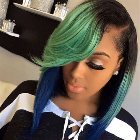 hairstyles bright colors 50 pretty sew in hairstyles for inspiration hair motive
