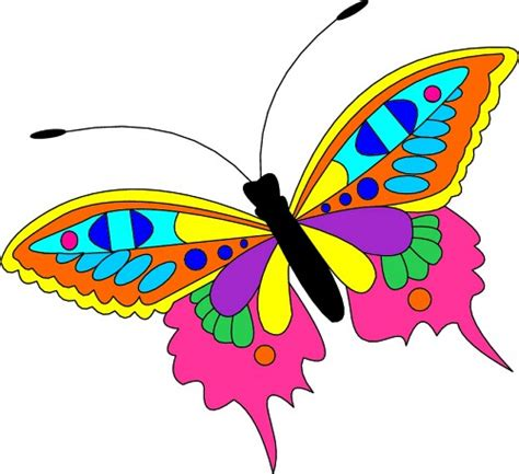 free butterfly clipart butterfly clip cool eyecatching tatoos cliparts co