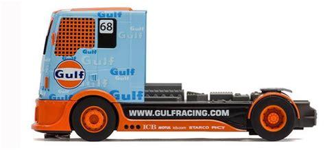 gulf racing truck gulf racing truck scalextric