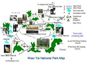 Car Rental From Bangkok To Khao Yai Cing In The National Park Khao Yai And Location Map