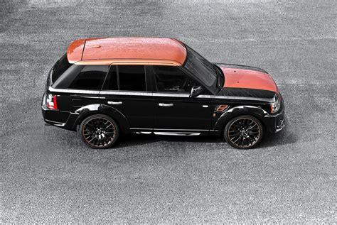 kahn land rover kahn range rover sport rs300 vesuvius edition autoevolution