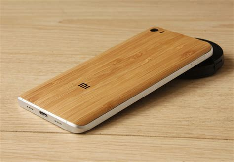 wood bamboo pattern back battery cover for xiaomi mi5 sale banggood