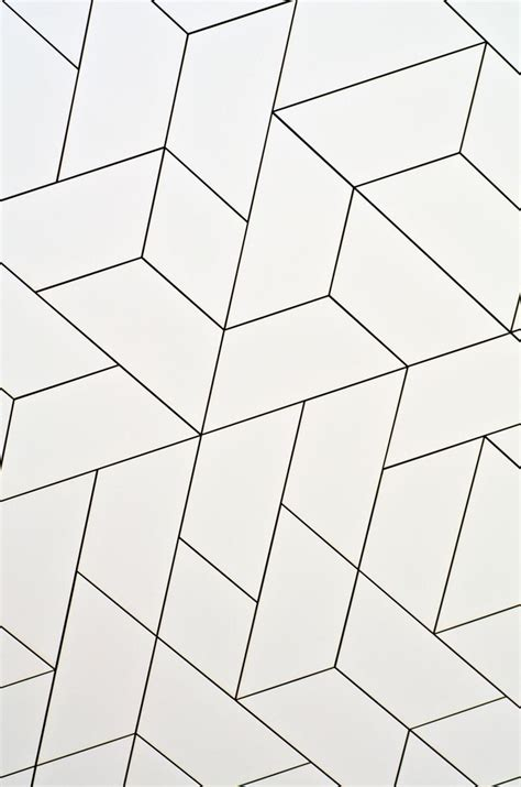 geometric black and white floor tiles best 25 white wall tiles ideas on white