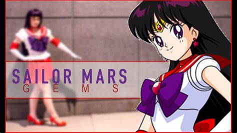 Sailor Mars Casing sailor mars resin gems