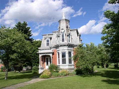 empire house 1879 victorian second empire in vassar michigan