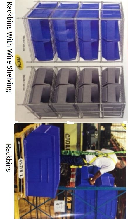 Rack It Shelving System by Plastic Bins Plastic Storage Bins Warehouse Storage