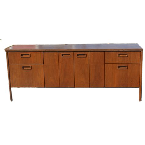 Kimball Credenza midcentury retro style modern architectural vintage furniture from metroretro and mcm consignment