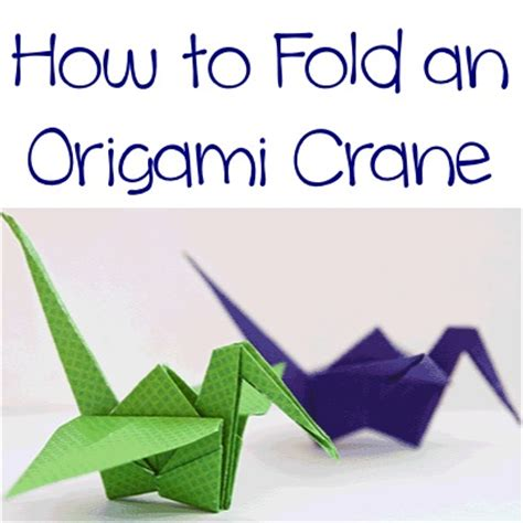 How To Fold An Origami Crane - 40 tutorials on how to origami a zoo
