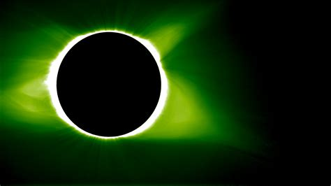 Eclipse In Green eclipse 2017 science from the moon s shadow