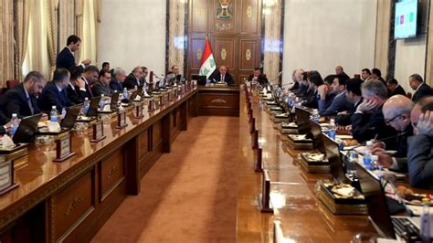 The Prime Minister And His Cabinet Are Controlled By by Iraq S Prime Minister Slashes Cabinet By One Third News