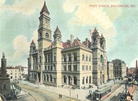 Post Office Pikesville by Best Baltimore Building That Was Demolished Page 2