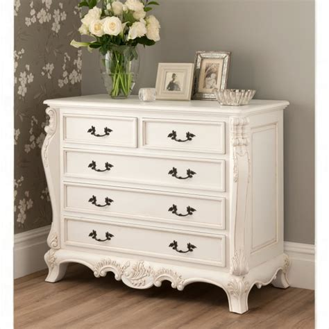 Rochelle Bedroom Furniture La Rochelle Antique Style Chest Whiter Bedroom Furniture