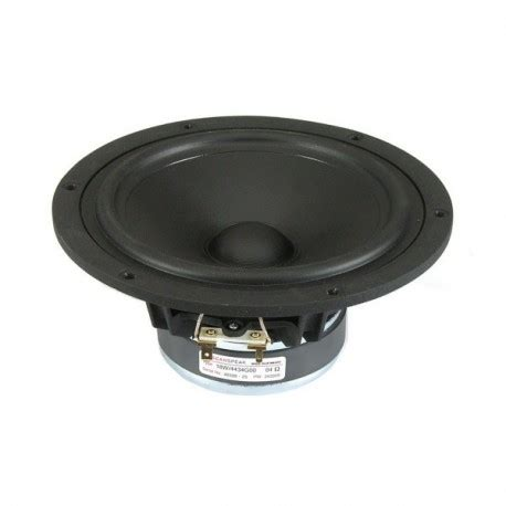 Speaker Midbass Sb Acoustics Satori Mw16p 4 65 New scan speak discovery 6 5 quot midwoofer w alu ring 4 ohm