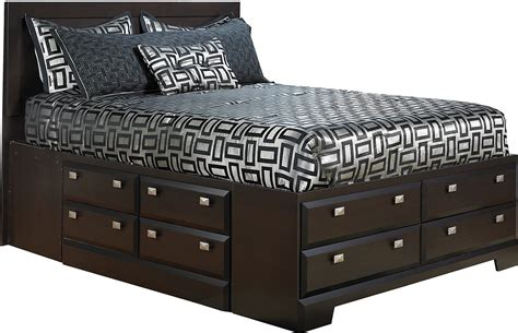 queen bed with storage yorkdale queen bed with storage the brick