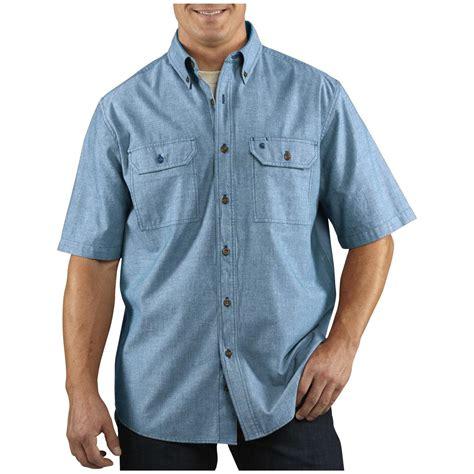 Sleeve Shirt s carhartt 174 sleeve chambray work shirt 282601