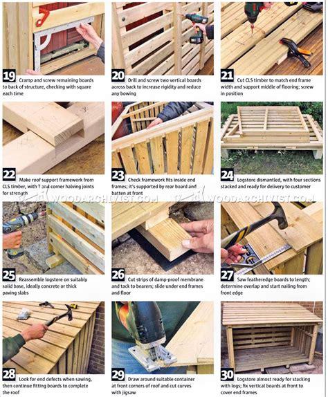log store plans woodarchivist