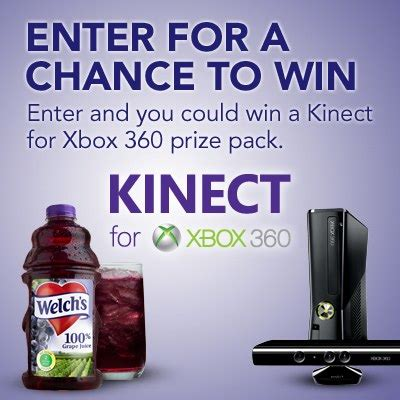 Xbox 360 Giveaway - enter to win welch s kinect for xbox 360 giveaway thrifty momma ramblings
