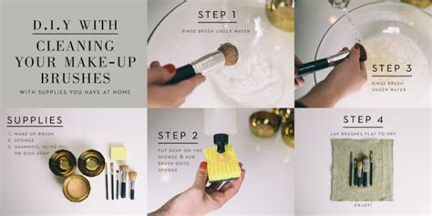 how to clean makeup brushes fashion news