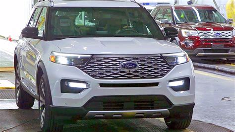 ford production 2020 2020 ford explorer assembly plant american car factory