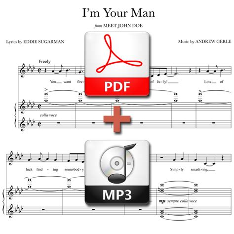 your man mp quot i m your man quot stand alone version pdf mp3 andrew