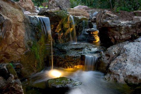 Landscape Lighting Rochester Ny Led Pond Landscape Lighting Ny Acorn Ponds Waterfalls