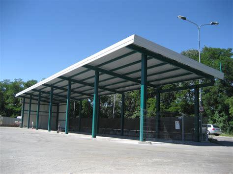 struttura in ferro per tettoia realizzazione strutture metalliche in tutto il nord italia