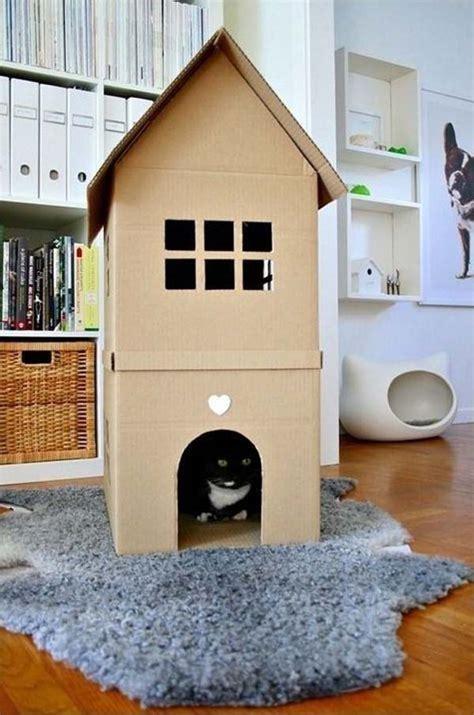 diy cardboard cat house 3 you can create a custom kitty dream house