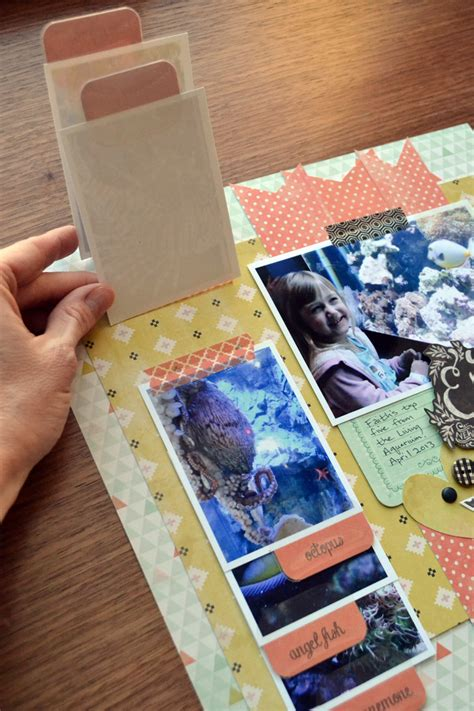 photography scrapbook layout ideas scrapbooking with the tab punch we r memory keepers blog