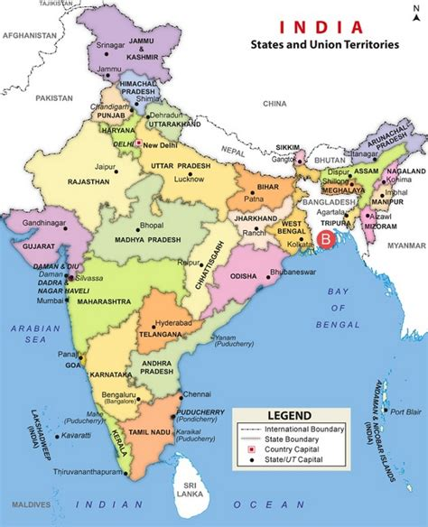 india bangladesh physical geography of india notes 5 mcq series