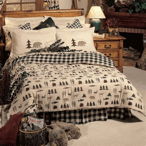 Rustic Bedding: Queen Size Northern Exposure Comforter Set