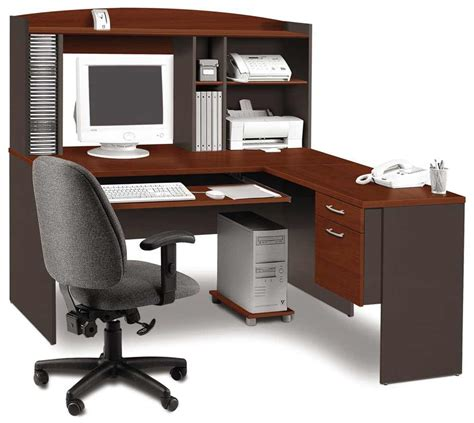 deluxe corner computer workstation desk office furniture
